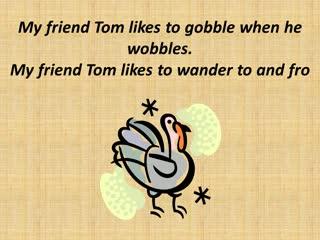 My Friend Tom is a Turkey (vocals)