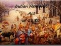 Native Americans: Journey Towards Assimilation