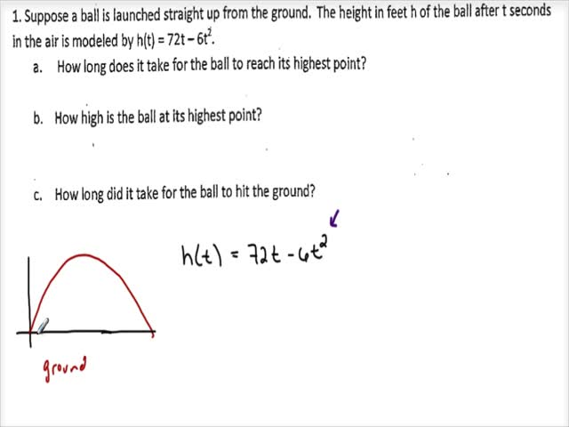 Applications of Quadratic Equations 1