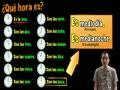 telling time in spanish - explanation (basic)