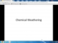 chemical weathering (1)
