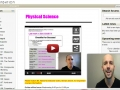 Online Physical Science Welcome Video Spring 2015