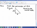Distance formula and Perimeter of Triangles and Rectangles Review