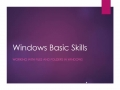 Windows Basic Skills