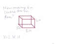 Volume of Rectangular Prism with Changing Units