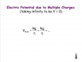 Electric Potential with Multiple Charges