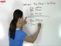 Subtraction of Units With Regrouping