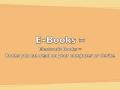 eBooks Video
