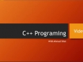 C++ Video Lecture 2: Mathematical Operations