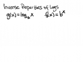 VIDEO 11- 7.4 Evaluating Logarithms- Inverses