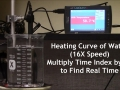 Heating Curve in  x16 speed