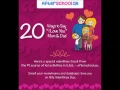 20 Ways to Say I Love You Mom & Dad this Valentines (Infographic)