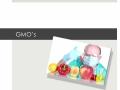Unit 5 KI 1.6 GMO's