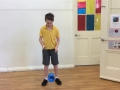 Circus Diabolo Over the Top Trick
