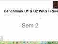 Benchmark Test WKST Review U1 Gases Sem 2