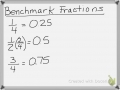 Equivalent Fractions & Decimals