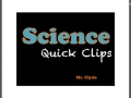 Science Quick Clips: Changes in the States of Matter