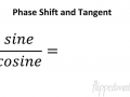 PC 10.2 Phase Shift and Tangent