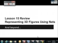 Lesson 15 Review Representing 3D Figures Using Nets