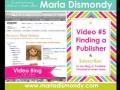 Vlog 5 Finding A Publisher