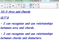10-3 Arcs and Chords
