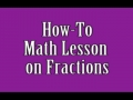 How To (Fractions)