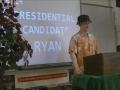 Ryan Ball Presidential Speech