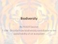 7 10B  Biodiversity RETEACH