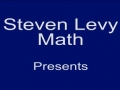 Stevenlevymath: Solving cooking ratios using metric units