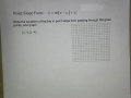 Linear Function in Point-Slope Form Ex 1