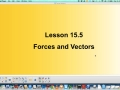 15.5 Forces and Vectors