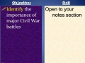 BaneTube- Battles of the Civil War