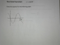 Sine Function in the  form y=asin(bx) Ex 7