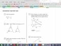 Geom 2nd Sem Final Review Part 1 - probs  1 - 19 Video