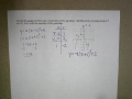 Modeling Data with Quadratics Ex 4
