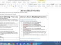 Literacy Block How To (Term 3 2015)