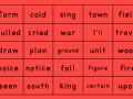 Estes Elementary Sight Words 476-500