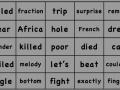 Estes Elementary Sight Words 776-800