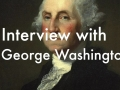Interview with George Washington