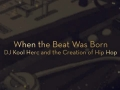 When the Beat Was Born Book Trailer