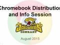 Chromebook Distribution 2015