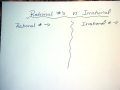 Corbin Comparing Rational and Irrational Numbers