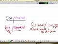 Diagramming 1--Basic Sentence