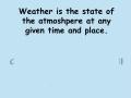 Atmosphere Basics Notes