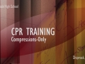 EMT Class CPR Compression Training | Shiprock High School | Shiprock, NM