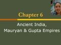 Maurya & Gupta Empires