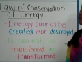 Law of Conservation of Energy Notes