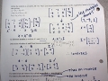 6-2 Notes Part 3:  Inverses & Determinant  on a TI-84 Calculator