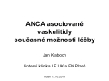 ANCA asociované vaskulitidy