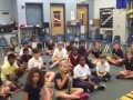 """15-16 Ms. Miller's (Ms. Hubner) 4th grade class """"Percussion Song"""" by Kliner/Almeida"""